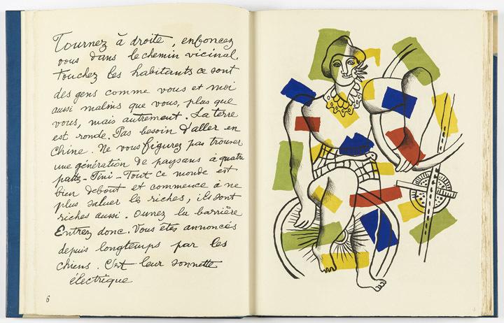 Fernand Léger, Cirque (Zirkus), 1950, Einband: Monique Mathieu © VG Bild-Kunst, Bonn 2018