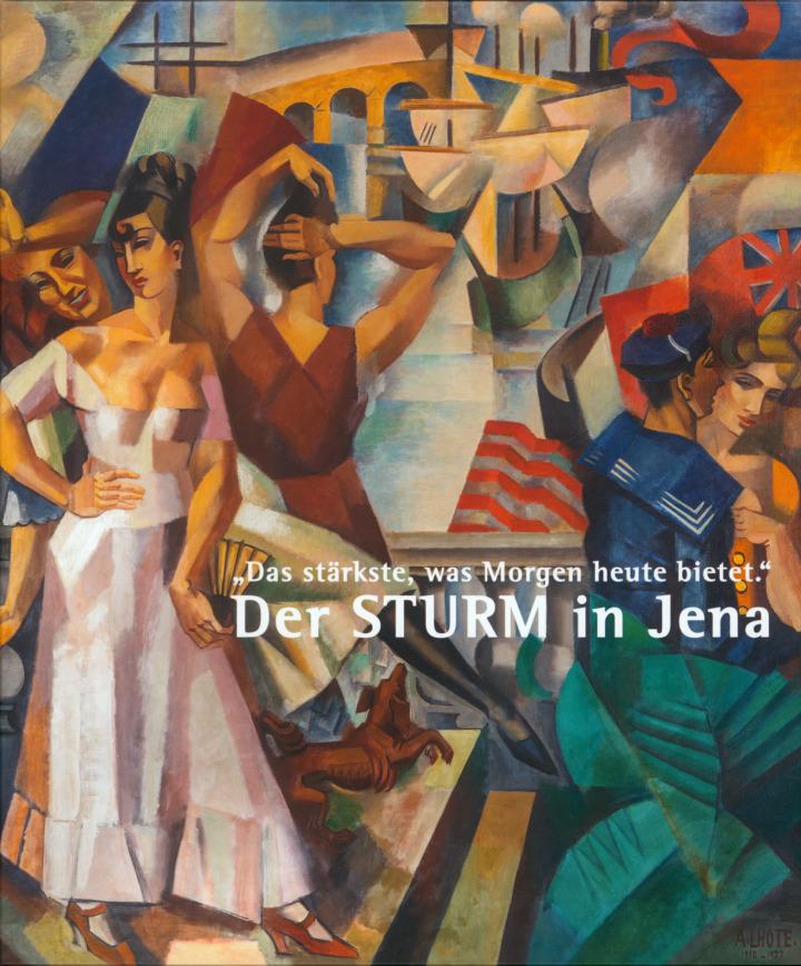 """Einband Katalog """" Der Sturm in Jena"""""""